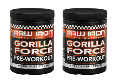 RAW IRON® Gorilla Force 2 pack