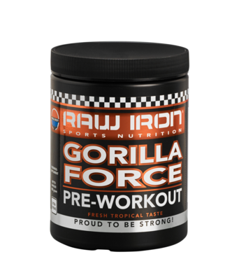 RAW IRON® Gorilla Force Pre-Workout