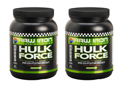 RAW IRON® Hulk Force 2 pack