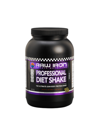RAW IRON® Professional Diet Shake