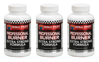 RAW IRON® Professional Burner 3 pack