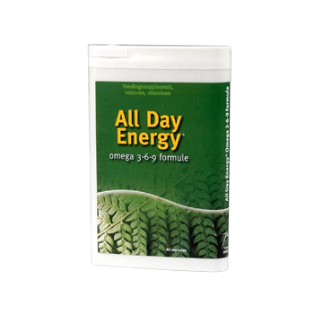 ALL DAY ENERGY® omega 3-6-9 formule