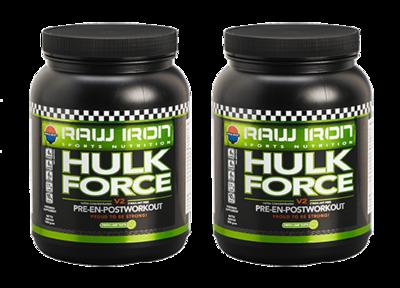 RAW IRON® Hulk Force 2 pack