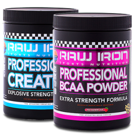 RAW IRON® Professional BCAA & CREATINE+