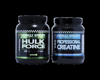 Pre- en Post Workout Hulk Force & Creatine
