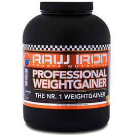 RAW IRON® Professional Weightgainer 2500 gram