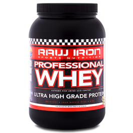 RAW IRON® Professional Whey 2000 gram