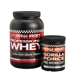 RAW IRON® Professional Whey & Gorilla Force Voordeelpakket