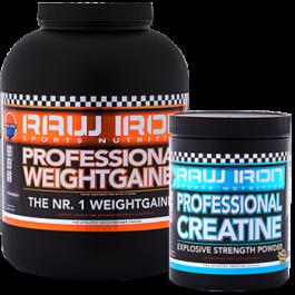 RAW IRON® Gewichtstoename Stack