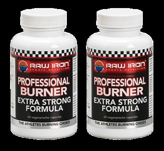 RAW IRON® Professional Burner 2 pack