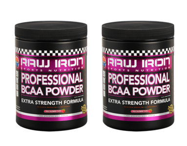 RAW IRON® Professional BCAA 2 pack
