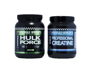 Pre-Workout Hulk Force & Creatine