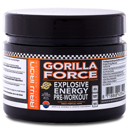 RAW IRON® Gorilla Force Pre Workout
