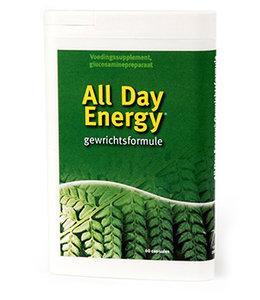 ALL DAY ENERGY gewrichtsformule