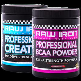 RAW IRON® Professional BCAA & CREATINE+