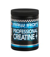 RAW IRON® Professional Creatine+