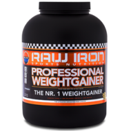 RAW IRON® Professional Weightgainer 1000 gram