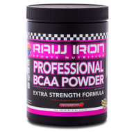 RAW IRON Professional BCAA Powder