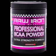 RAW IRON Professional BCAA Powder